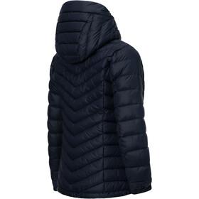 Peak Performance Frost Down Hooded Jas Dames, salute blue